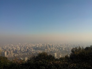 santiago san cristobal pollution