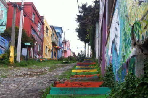 Article : Valparaíso, mer d'odeurs et de couleurs
