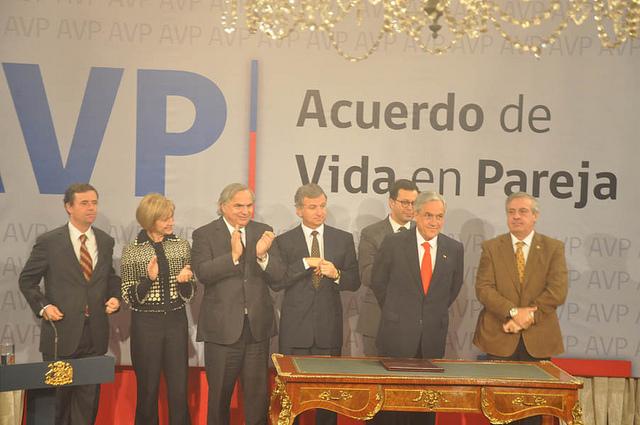 Lanzamiento del Acuerdo de Vida en Pareja (AVP) en el Palacio de la Moneda   Flickr