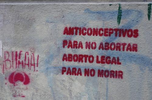 Article : «Légalisez l'avortement!» demande Amnesty